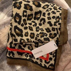 New cheetah print scarf